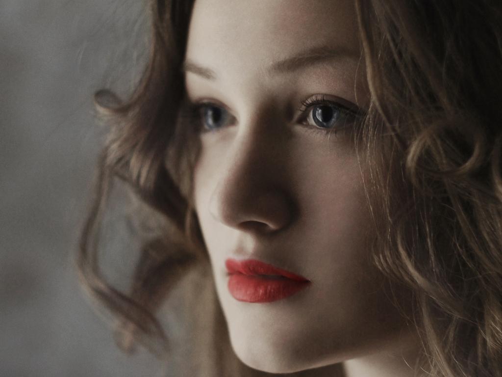 close up girl