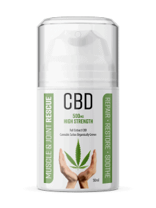 500mg Muscle and Joint Rescue CBD Cream